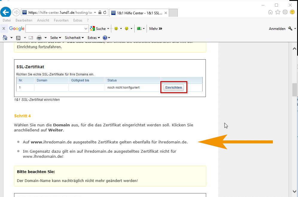 SSL Zertifikat .htaccess - WoltLab Community Framework 2.0 - WoltLab®