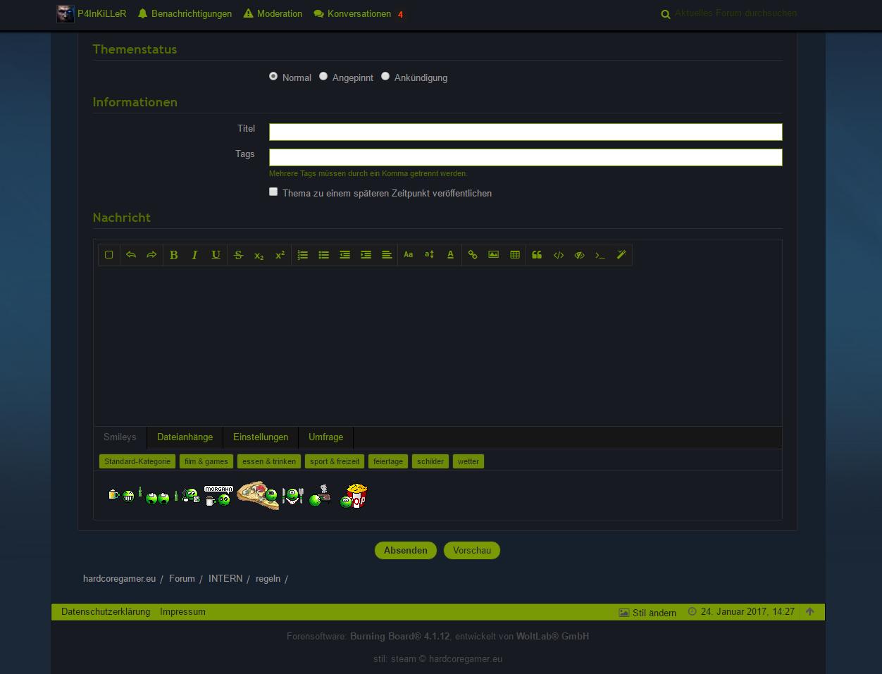 Webcam chat portal