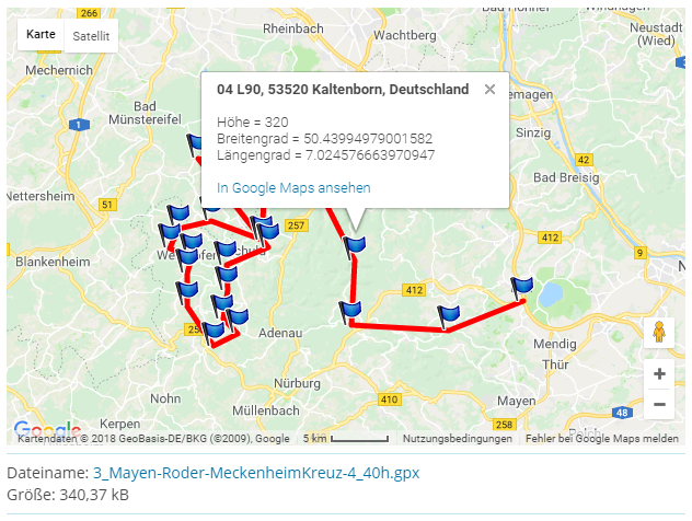 GPX Maps - WoltLab®