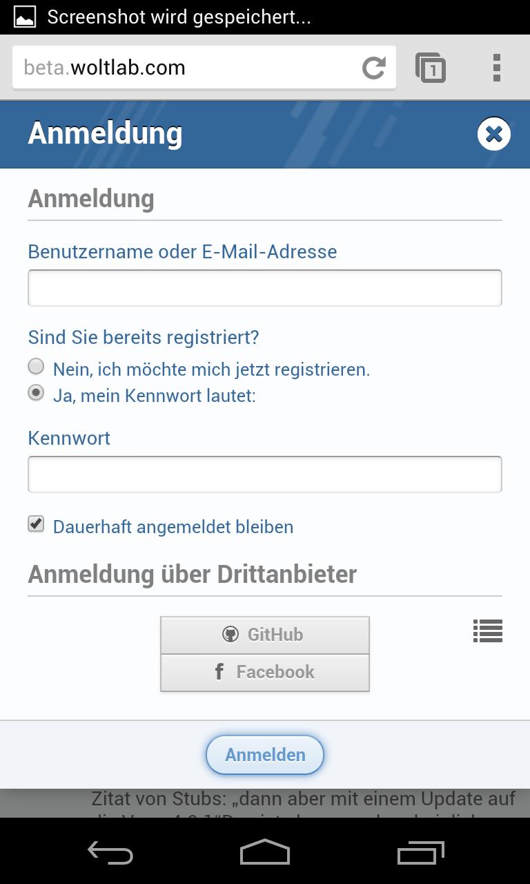 Handy facebook login über Lords Mobile