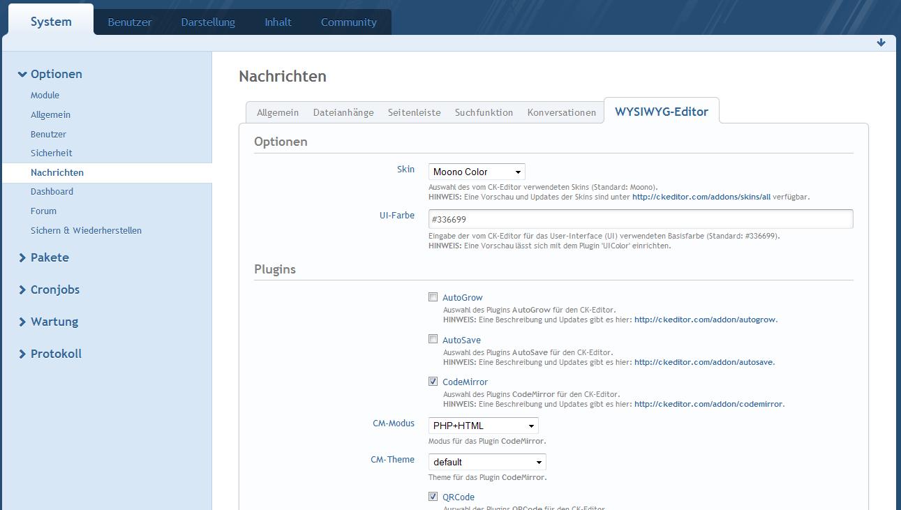 WYSIWYG-Tools - WoltLab®